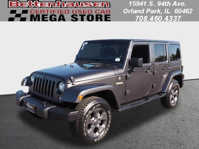 Pre Owned 2017 Jeep Wrangler Freedom Edition